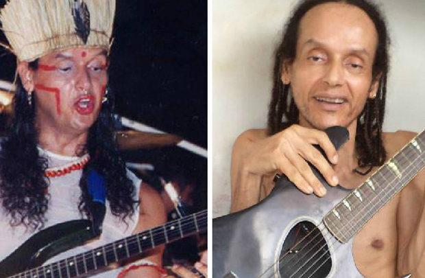Resultado de imagem para Ex-integrante do Chiclete com Banana, Cacik Jonne morre aos 54 anos em Salvador