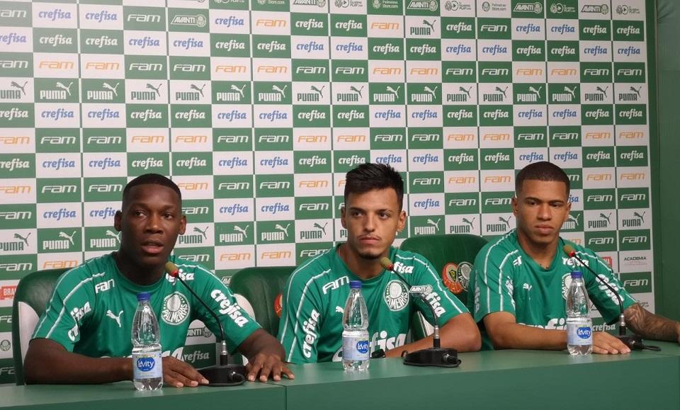 Patrick De Paula Gabriel Menino Lucas Esteves Palmeiras 060120 Leia Noticias